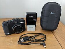 Excellent Canon PowerShot G12 12.1MP Digital Camera + Battery, Charger, Case