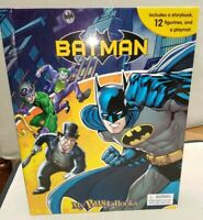 DC Batman My Busy Book, Complete with 12 Figures In Good Condition