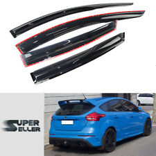 Window Visor Sun Rain Guard Ford Focus 4D Sedan 5D Hatchback Mugen Type 11-18