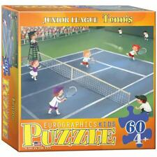 EuroGraphics Tennis Junior League Jigsaw Puzzle (60-Piece) Small Box