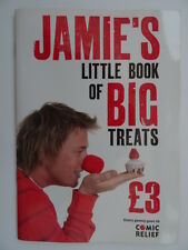 Jamie's Little Book of Big Treats by Jamie Oliver (Paperback, 2007). 12 Recipes.