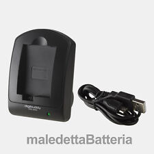 Carica Batteria USB compatto digibuddy per Canon EOS 350D  400D (LG4)