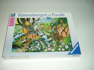 Sally J. Smith Ravensburger Jigsaw Puzzle Faerie Glen Garden NIB