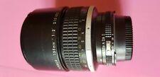 Nikon 135 F2 Perfecto Condiciones Un Tele De Retrato Fabuloso Original 100%