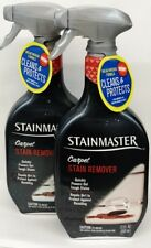 2 STAINMASTER CARPET STAIN REMOVER SPRAY Powers Out Tough Stains 22 oz