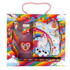 Le ragazze unicorno castello Stationery Box Set, diario segreto, righello, gomma e più