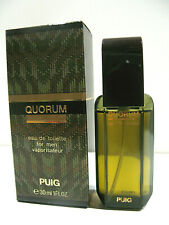 VINTAGE PROFUMO QUORUM PUIG 30ML SPRAY EAU DE TOILETTE FOR MEN MAN POUR HOMME