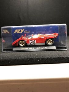 1/32 FLY SLOT CAR FERRARI 512 S SEBRING 70 REF C5 BRAND NEW RARE