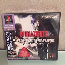 Resident Evil Biohazard 3 - PS1 - JAP - Comme neuf