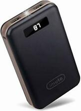 Imuto 20000mAh Compact Portable Charger Power Bank External Battery With Smart