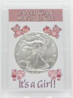 It's A Girl 2020 American Eagle Silver Dollar Coin 1 oz Newborn Baby Gift ounce