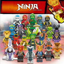 2019  24 Sets Ninjago Jay Cole Ninja with Weapons Mini figures Building Blocks