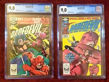 Daredevil CGC Lot #176 1st Stick & #181 Bullseye, Death of Elektra CGC 9.0 VF/NM