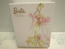 New ListingBarbie Notecards Nib 20 Blank Cards w/Envelopes by Graphique 4 Designs Glittered