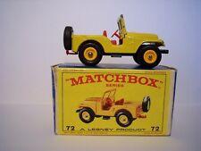 Matchbox 1-75 Regular Wheel Series Nr. 72B Standard Jeep*OVP