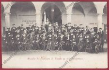 COMO TURATE 11 VETERANI CASA UMBERTO I  INVALIDI GUERRA Cartolina viaggiata 1900