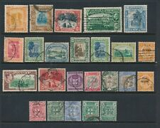 Jamaica **24 DIFFERENT USED (1900-1938)**; ISSUES AS SHOWN; CV $40