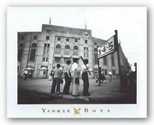 Yankee Boys, Yankee Stadium, Bronx, New York Corbis Archive Art Print 12x17