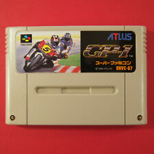 GP-1 Motorcycle Racing (Nintendo Super Famicom SNES SFC, 1993) Japan Import