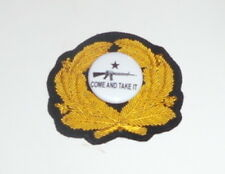 Come Take It Hat Cap Badge American Revolution Marines Oppression War Nwo Ak 47