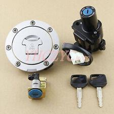 Motorcycle Ignition Switch Lock Gas Cap Set Lock Key for Honda CBR1100XX 99-06