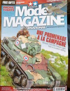 TAMIYA Model Magazine October 2020 R35 French Tank 1:48 Hellcat Kinetic EA-6B