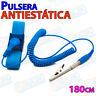 Pulsera Antiestatica Ajustable Pinza cocodrilo correa electronica informatica