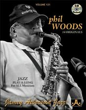 Jamey Aebersold - Phil Woods [New CD] With Book