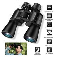 Day/Low Night Vision 180x100 Zoom Outdoor Hd Binoculars Hunting Telescope +Case