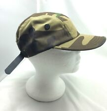 Green Camouflage Army Hat Rasta Urban Cap Adjustable Buckle One Size Fit All NEW