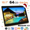 10.1'' Android 6.0 Octa-Core Tablet PC 4G+64G Dual SIM Camera OTG WiFi Phablet Z