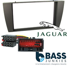 CT24JG02 Jaguar X Type 2002> Car Stereo Double Din Fascia Panel & ISO Wiring Kit