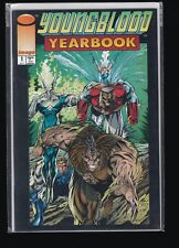 """C133 Youngblood Yearbook #1--""""This Savage Land""""--1993 Comic Book HIGH GRADE NM+"""