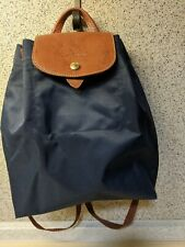 Longchamp Pliages Ladies Navy Blue Backpack Sac A Dos XS