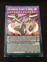 3 Available Yugioh Supreme King Z-ARC MP18-EN011 Secret Rare 1st Edition