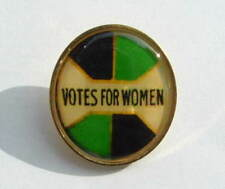 Suffragette Badge Brooch Suffragettes Votes for Women Circle Post Free Within UK