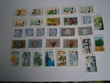 nouveautés 2018      lot de 30 timbres oblitérés