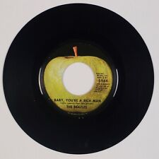 BEATLES: Baby You're A Rich Man US Apple 5964 West Coast LA Press 45
