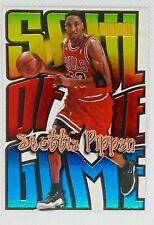 SCOTTIE PIPPEN 1998-99 Skybox Premium SOUL OF THE GAME Card #3 BULLS HOF🔥