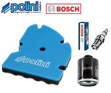 Kit Entretien Filtre Polini Bougie Bosch  Piaggio X9 125 SL 2003