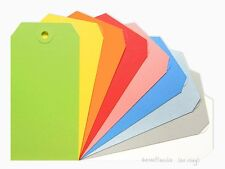 50 No 5 Shipping Media Tags 13pt Choose Color Assortment 4 34 X 2 38 Inch