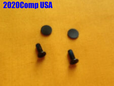 GENUINE HP Compaq G60 CQ60 G62 G61 LCD Bezel Screw Cover + Screws
