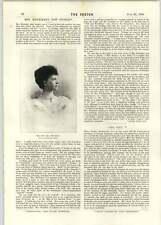 1896 el honorable la señora Henniker Mr justicia testamentos sentado Retrato