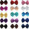 Girls Glitter Hairpin Hair Clip Bow Shiny Baby Kids Cute Sequin Bowknot