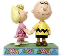 Enesco Peanuts Charlie Brown And Sally I Love You Big Brother Fig NEW IN STOCK