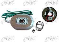 2 x Electric Trailer Brake Oval Magnets Caravan Camper Trailer with Spring clip