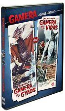 GAMERA VS. GYAOS / GAMERA VS. VIRAS (Double Feature) DVD [V11]