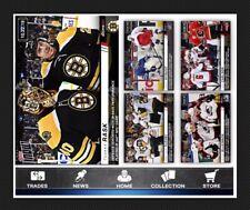 TOPPS NOW CHASE-5 CARD SET-NYQUIST/CARLSON/FLEURY/MACKINNON/RASK-TOPPS SKATE 20
