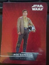 2015 Topps Star Wars The Force Awakens Sticker #14 Poe Dameron The Resistance