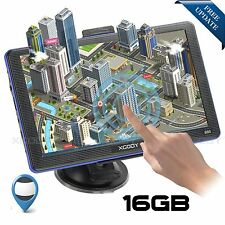 "XGODY 7"" Zoll KFZ LKW GPS Navigationsgerät Navi Navigation POI EU Karten 16GB"